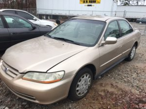 Junk 2002 Honda Accord in Atlanta, GA
